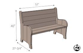 Resultado de imagen de church bench
