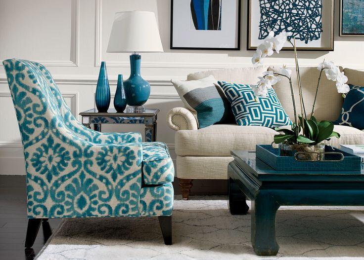 Rectangular Turquoise Tray