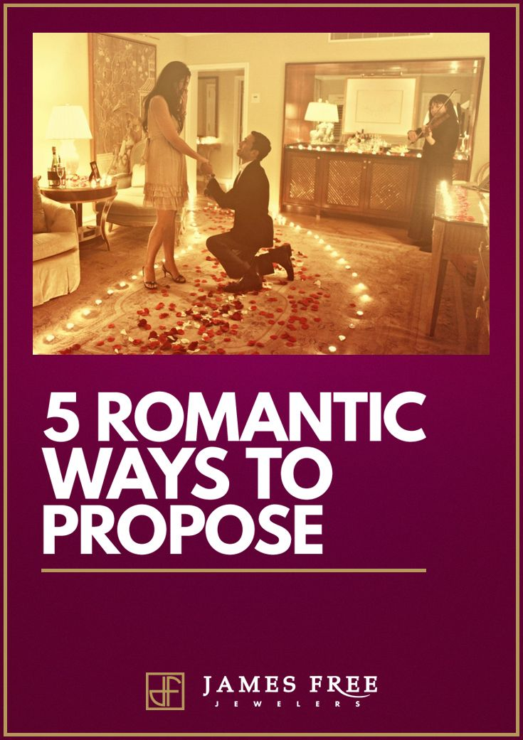 What do you think are really the 5 most romantic ways to propose? We ranked them for you!