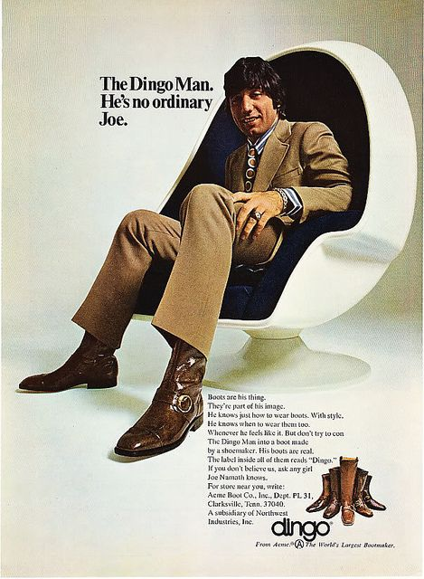 vintage everyday: Retro Shoe Adverts, 1960s-70s