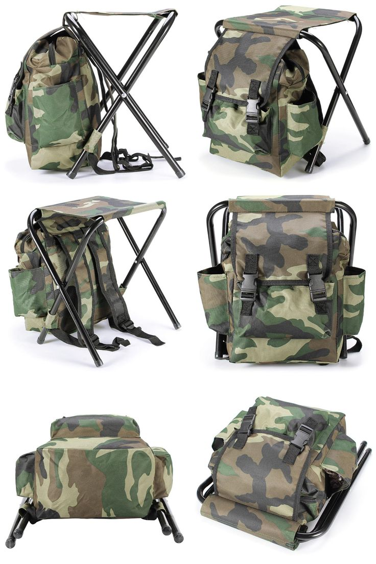Backpack fishing chair -  Visit To Buy Fishing Chair Outdoor Camouflage Bag Portable Folding Stool Backpack Folding Fishing