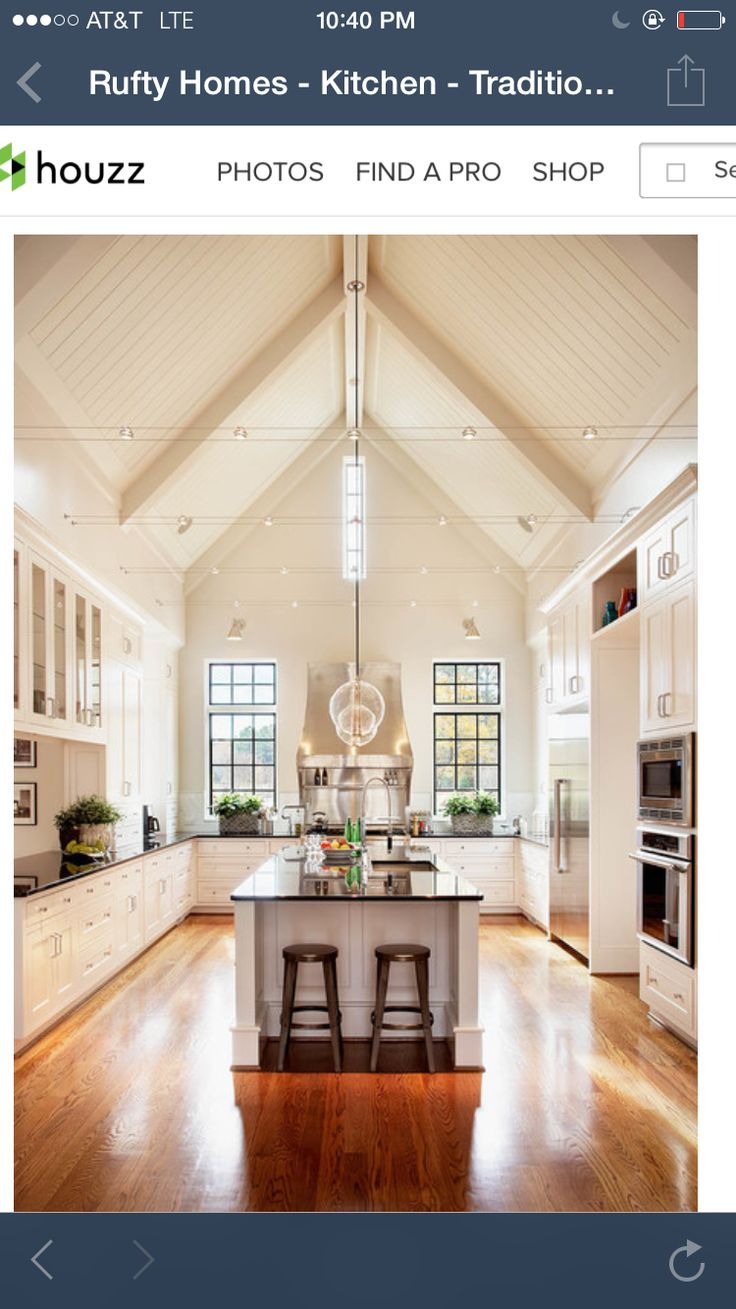 69 Best Lake House Images On Pinterest Beautiful Homes Decks And New Wiring To Basement Flat Conversion Electrical Job In Oswestry Kitchen Vaulted Ceiling Transitional Rufty Custom Built