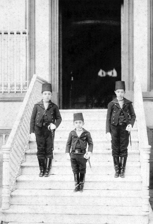 Sultan 2. Abdülhamid'in aile albümü