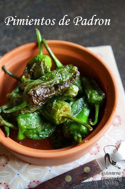 Kulinarne przygody Gatity: Pimientos de Padrón, czyli zielone papryczki z Gal...