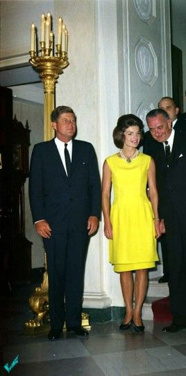 President and Mrs Kennedy