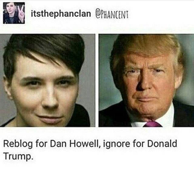 Shit who wants Donald Trump