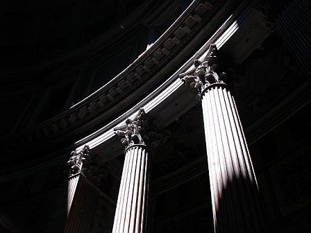 Parthenon shadows