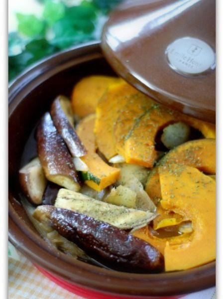 野菜のスパイスオイル蒸し