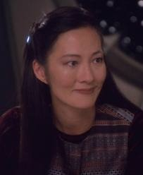 Rosalind Chao — the actress I had in mind when writing the character of Shelby Liu