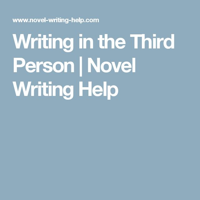 write essay in third person Writing in the third person is more formally known as using the third-person objective point of view the third person point of view in an essay is characterized by the use of personal pronouns such as he, she, they or one rather than i, we or you.