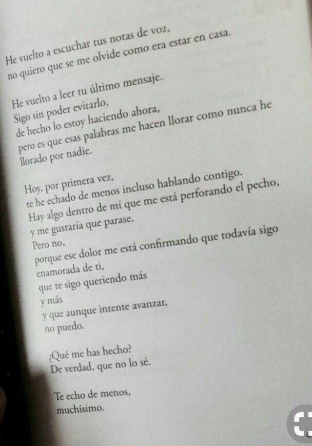 Te Echo De Menos Echar De Menos Frases Frases De Amor Y