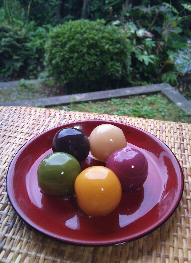 i eat this 4-5 times a year. / Photo: Japanese Sweets (Tokyo Asakusa Funawa)|浅草舟和のあんこ玉
