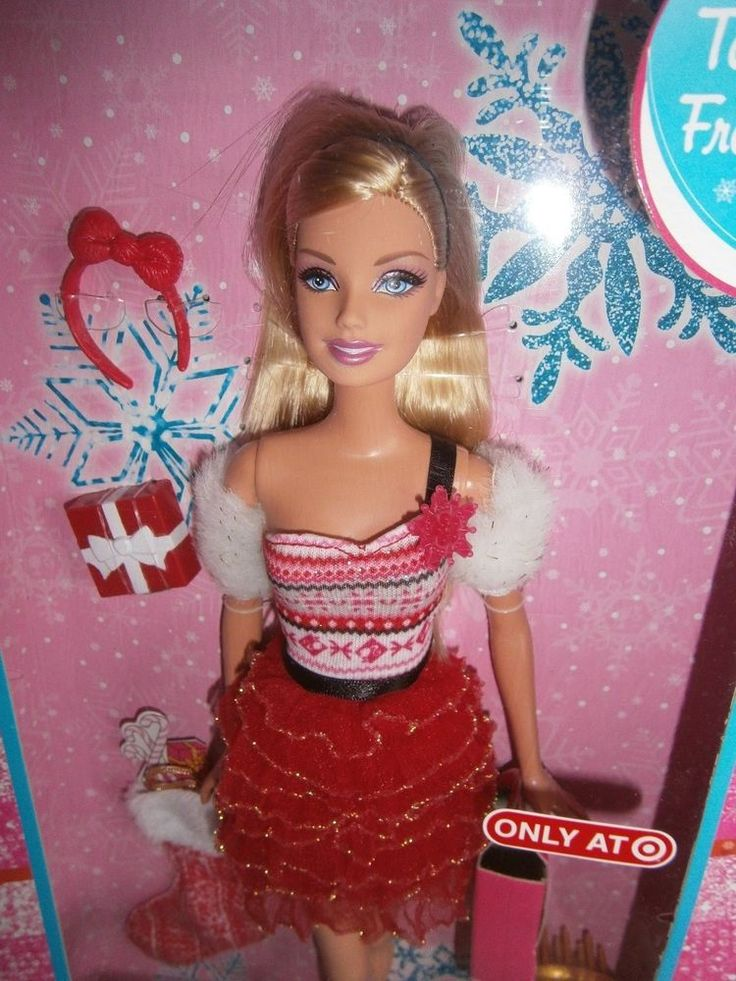 Holiday Surprise Barbie Doll Target Exclusive 2012