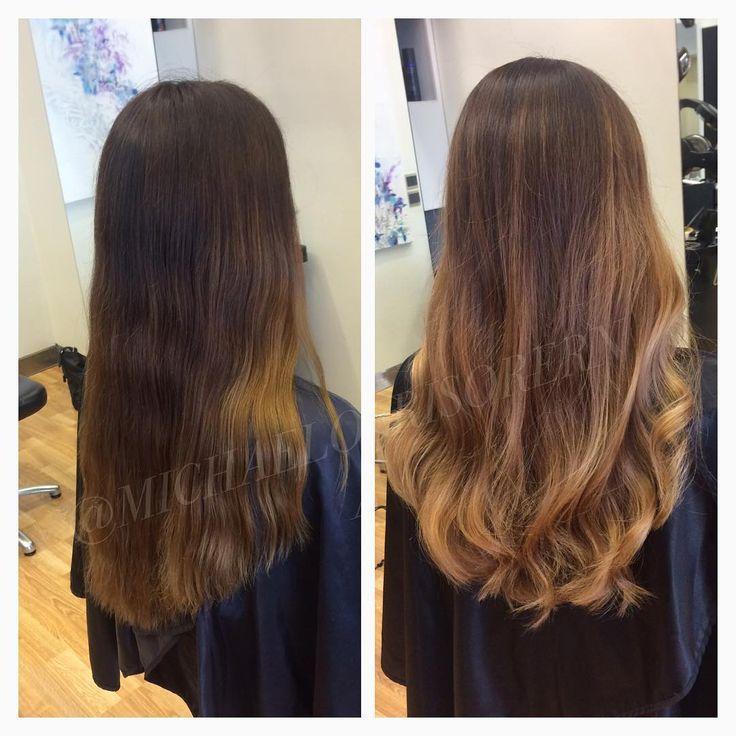 Härlig balayage i beiga toner av Ammi! #michaelofrisorerna #hairpassion #stockholm #ombre #ombrehår #ombrehair #balayage #olaplex #olaplexsweden #hair #hairstyle #hairstylist #hår #haircolour #hairfashion #Longhair #hairdresser #blondehair #blonde #brownhair #curlyhair