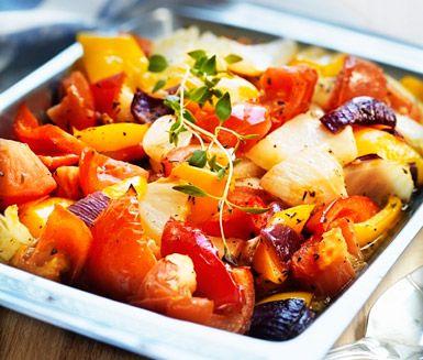 Recept: Sydfranska grönsaker med fisk och citron