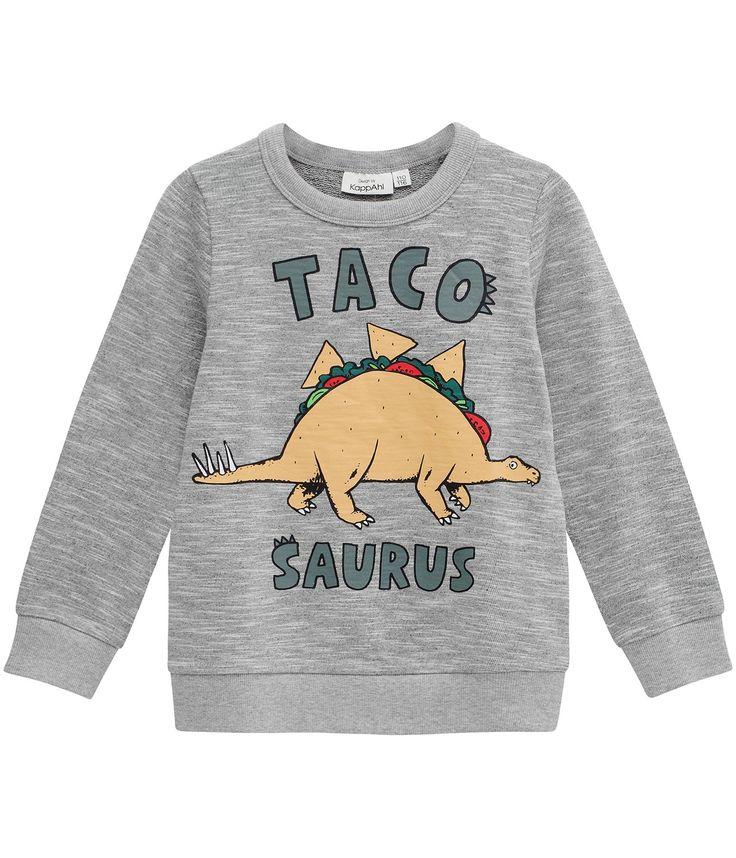 Sweatshirt med dinosaurietryck - Barn - KappAhl
