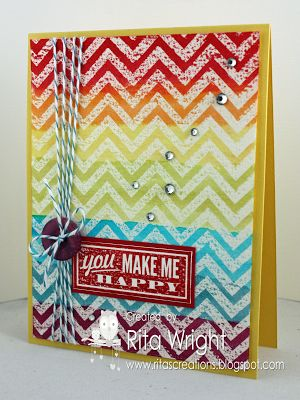 Stampin' Up! Positively Chevron
