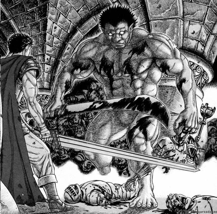 Berserk manga Gatsu Zodd by LalyKiasca on DeviantArt