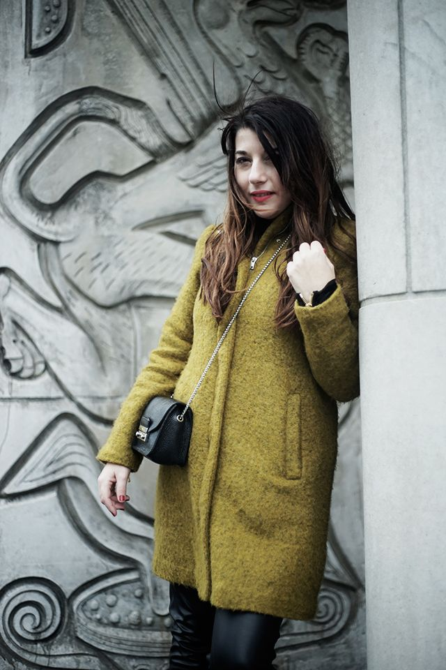 Wendy's rocking our #monkistyle coat!