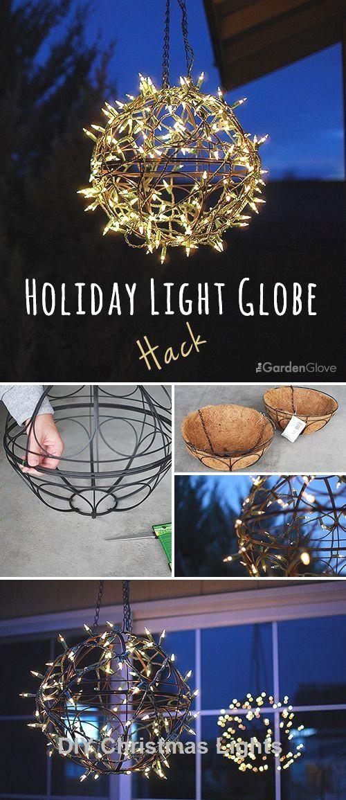 17 Creative and Stylish DIY for Christmas lights #lightsdecor