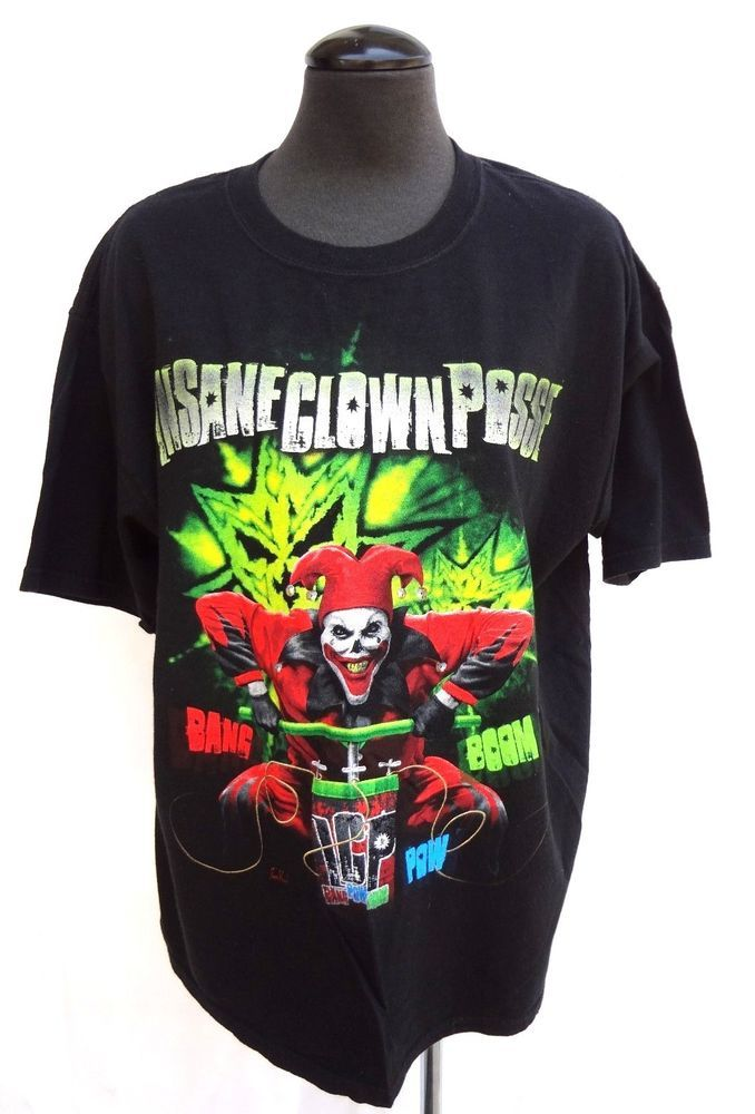 Vintage MENS X- Large (XL) Insane Clown Posse (ICP) CONCERT Tour T-SHIRT