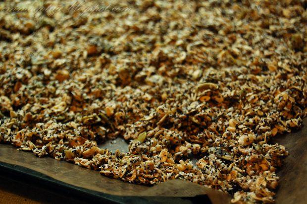 Emma Gotuje: Kokosowa zimowa granola + krótki zbiór świątecznych przepisów.