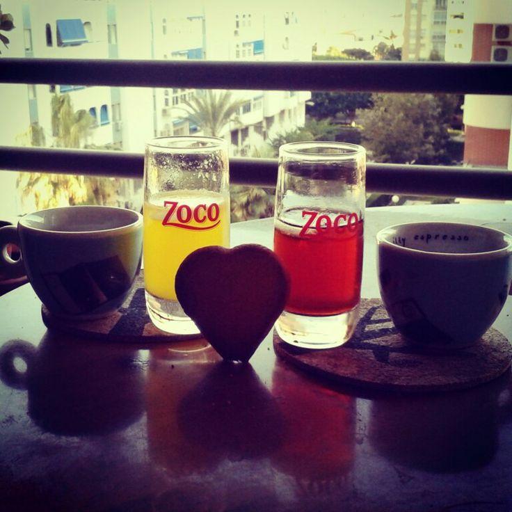 Café y celebración