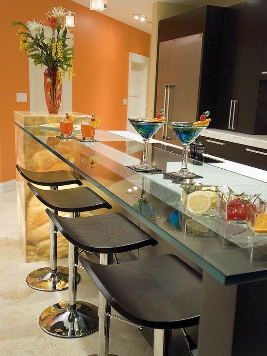 Beautiful Elegant And Modern Kitchen Bar Design Idea Home Design Ideas
