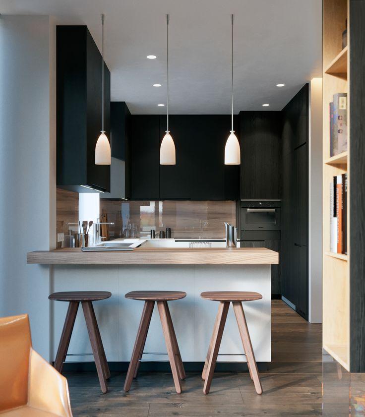 1401 best Küchen \/\/ Design images on Pinterest Kitchen modern - küchen wandverkleidung katalog