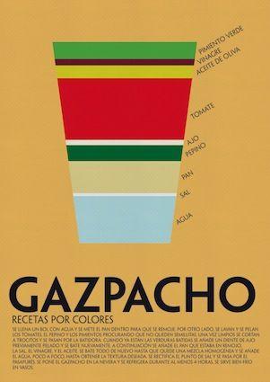 El gazpacho, ese rico amigo de los calurosos días de verano. Infografía de Laura Valero.