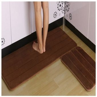 Buy Melano 2pcs set Anti-Slip Kitchen Rugs Carpet Floor mat (BROWN) online at Lazada Malaysia. Discount prices and promotional sale on all Mats. Free Shipping.