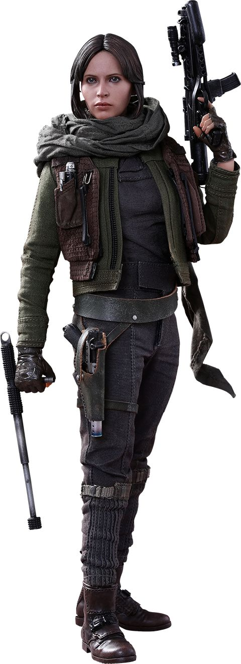 Hot Toys Jyn Erso Sixth Scale Figure.