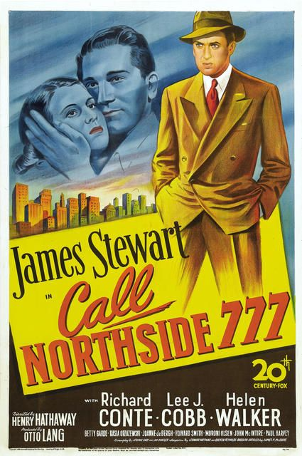 Call Northside 777 1948  movie poster