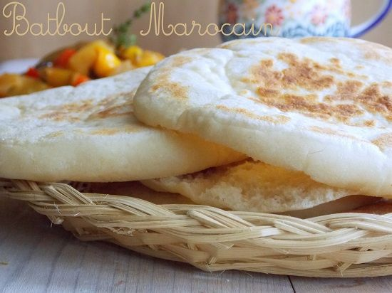 Batbout marocain a la poêle