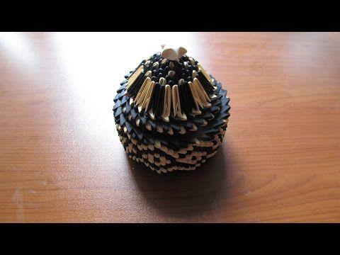 3D Origami Jewellery Box Tutorial  3D Origami  Pinterest