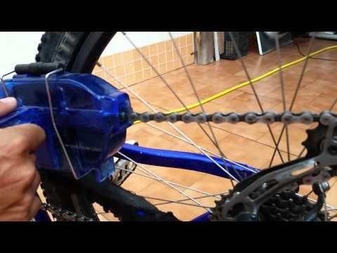 Cómo limpiar lubricar engrasar cadena bicicleta de forma correcta - Vídeos de ciclismo