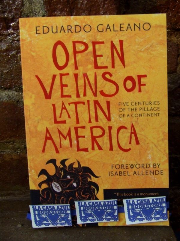 an analysis of open veins of latin america by eduardo galeano Or political successions, eduardo galeano has organized the various facets of latin american history according to the weaving fact and imagery into a rich tapestry, galeano fuses scientific analysis with the passions of january 1997 : usa hardback title: open veins of latin america.