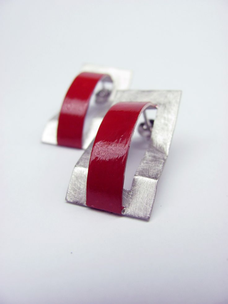 Arco earrings - Metals Collection - Hand made jewel  Shop at www.oficinadarte.it
