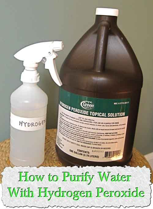 aim of water purification