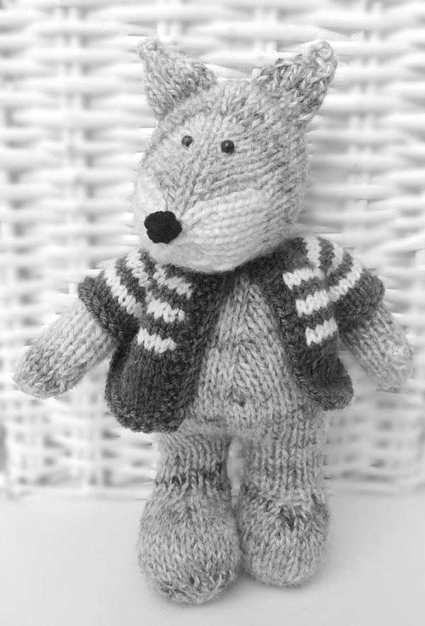 Gray Wolf by Amanda Berry, via Behance