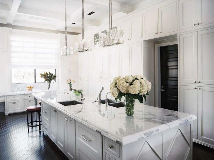 Die besten 25+ super weißer Granit Ideen auf Pinterest Super - quarzit arbeitsplatte küche