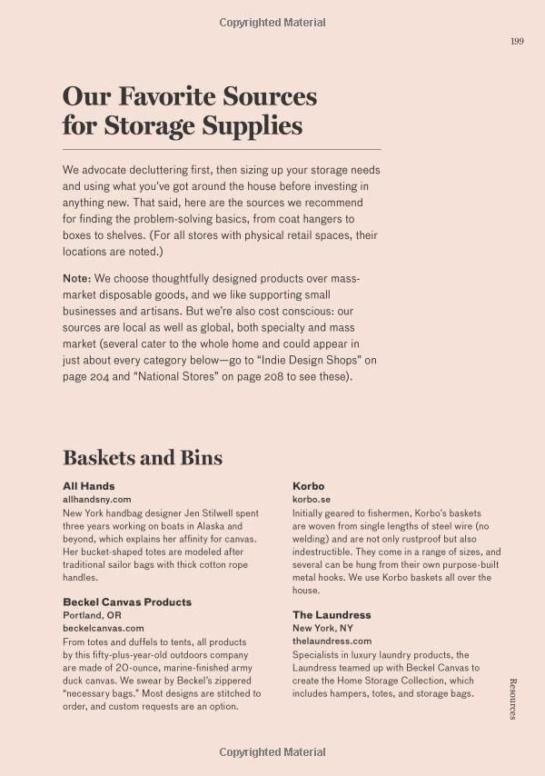 storage supplies sources amazon com remodelista the organized