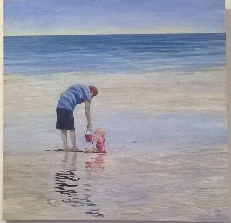 'Ta' Daddy 900x900 Acylic on Canvas from www.dianneturnerart.com.au