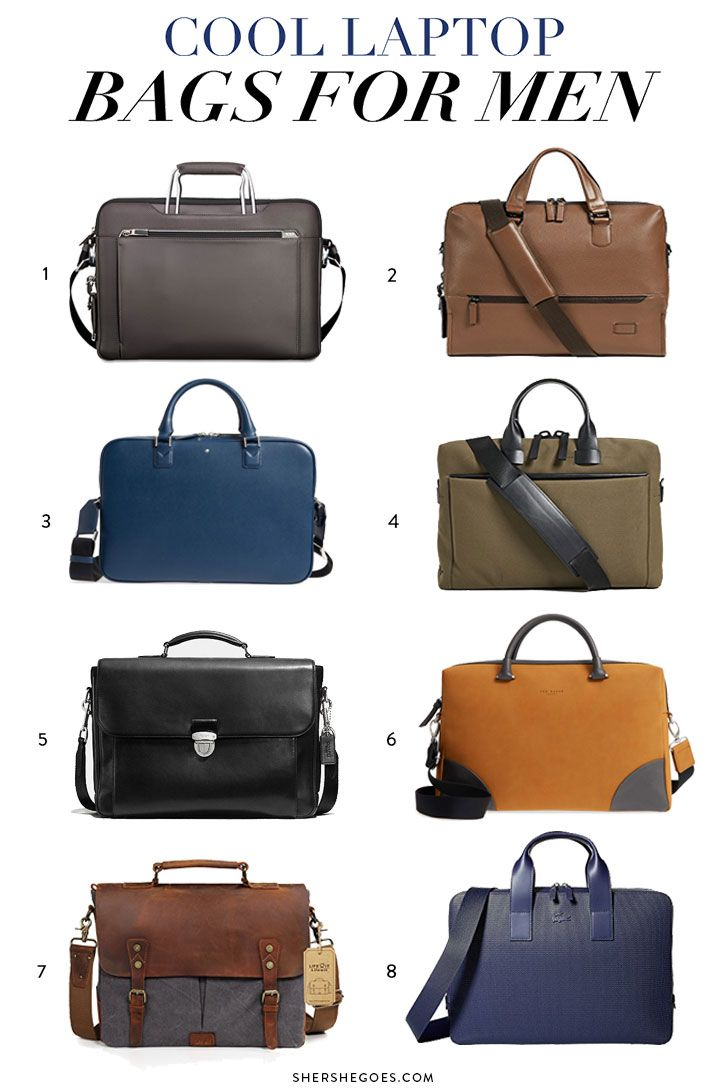 a25dc0f9ee here are 8 cool laptop bags for men from our favorite stylish mens brands.  whether you want to upgrade your laptop briefcase or get a classic leather  laptop ...