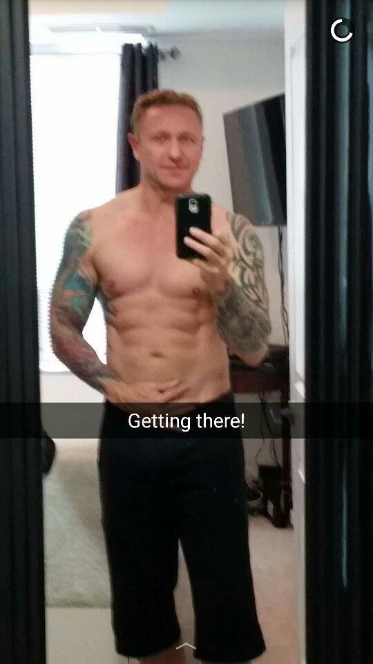 Leaning out!  #gym #fitness #tattooed