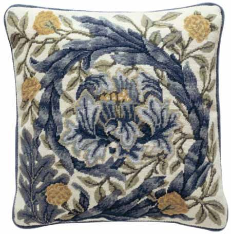 Beth Russell Needlepoint - African Marigold Collection - African Marigold Cushion - Kit