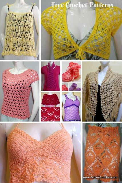 624 best DIY - Häkeln - Kleidung images on Pinterest   Diy häkeln ...