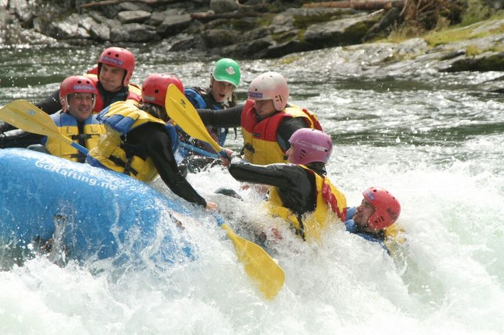 Rafting in sjoa norway