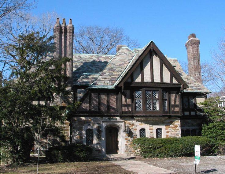 1929 tudor revival house 136 glen rd north rosedale toronto