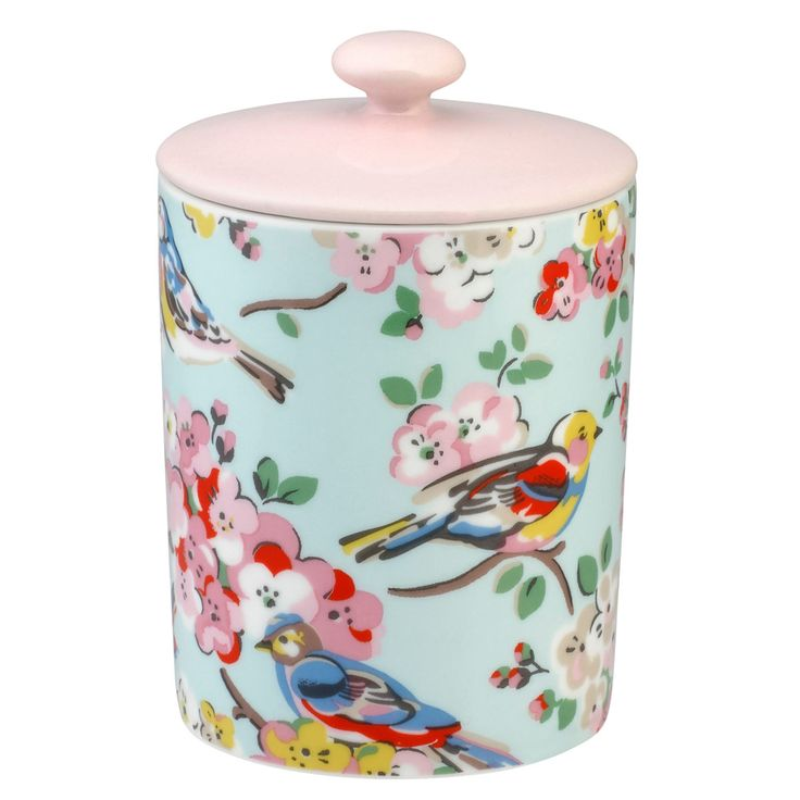 blossom birds soy wax candle cath kidston ceramic